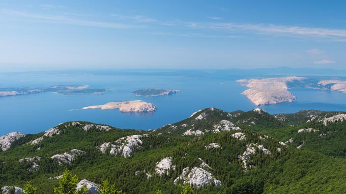 Senderismo en Croacia