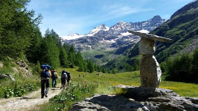Tour del Cervino Trekking Taranna