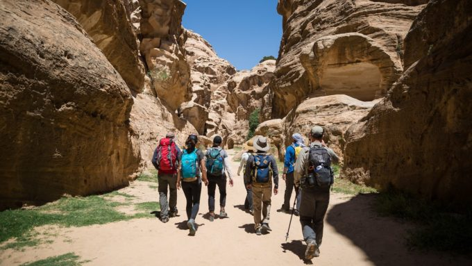 Trekking Jordan Trail