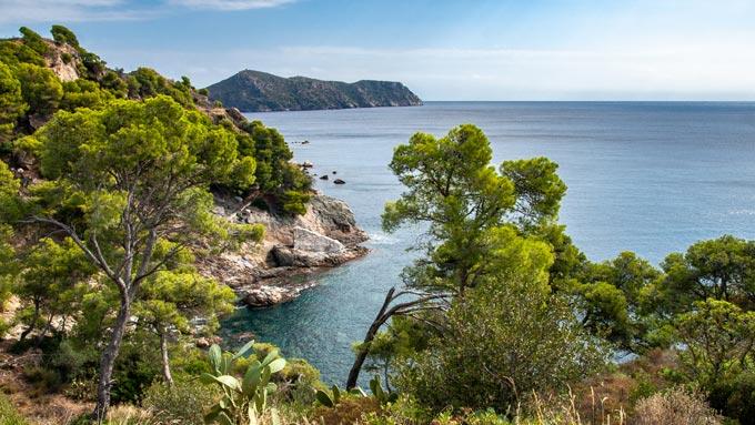 Senderismo en la Costa Brava España