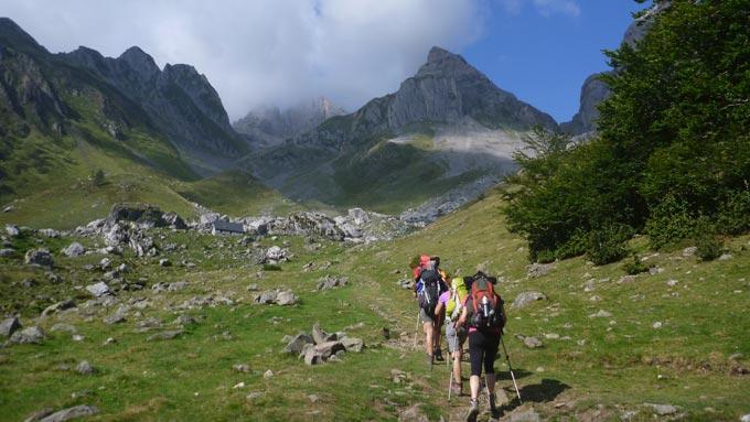 Trekking Senda Camille