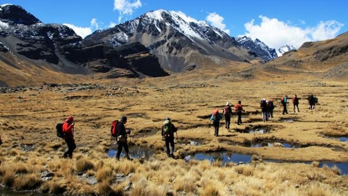 Trekking Bolivia Cordillera Real