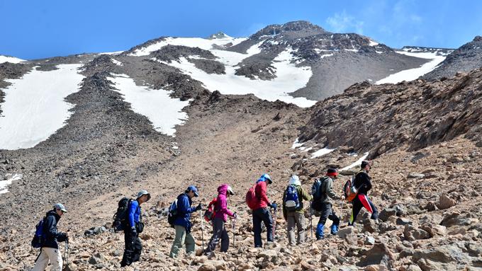 Trekking Iran Tochal y Damavand