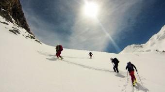 Monte Elbrus con Esquis
