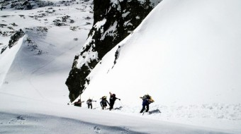 Esqui de travesia en Eslovaquia 2017