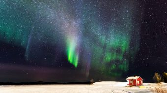 Trekking Auroras Boreales en Lemmenjoki