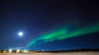 Auroras Boreales y Esquí en el Lago Inari 2019