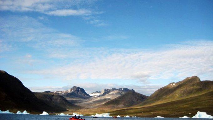 Groenlandia Kayak y Trekking