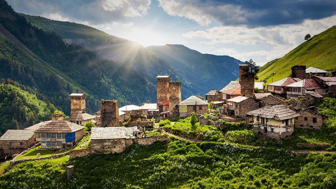 Taranna Trekking Georgia Svaneti