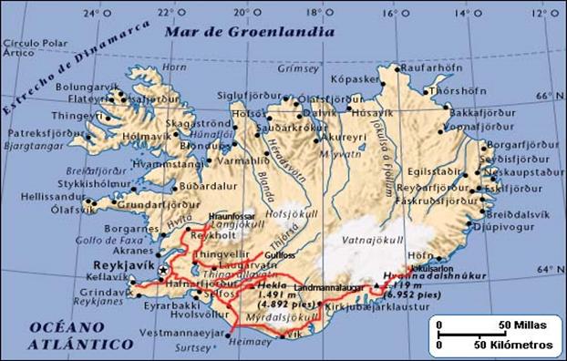 trekking_islandia-mapa